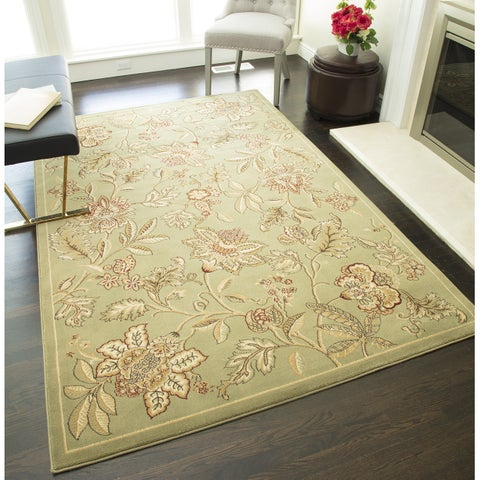 """Blossoms Floral Area Rug - 7'10"""" x 10'10"""""""