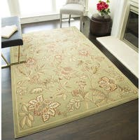 "Blossoms Floral Area Rug - 7'10"" x 10'10"""