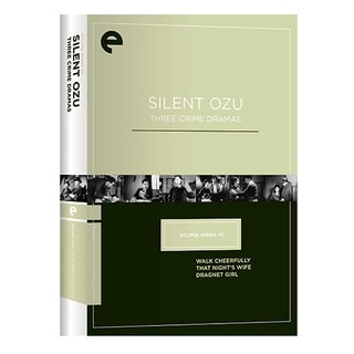 Eclipse Series 42: Silent Ozu - Three Crime Dramas (DVD)