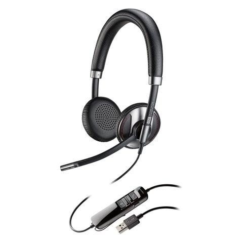 Plantronics Blackwire 725-M USB Headset with Active Noise Canceling C
