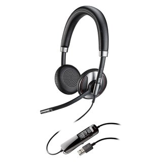 Plantronics Blackwire 725-M USB Headset with Active Noise Canceling C