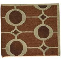 Handmade Herat Oriental Indo Tibetan Wool Rug (India) - 2' x 2'