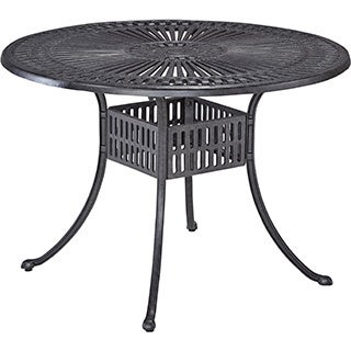 Home Styles Largo 42-inch Round Outdoor Dining Table
