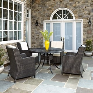 Home Styles Largo 5PC Dining Set w/ Riviera Chairs
