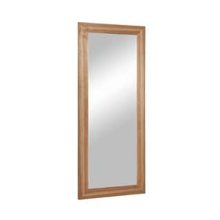 Aurelle Home Large 79-inch Walnut Frame Mirror
