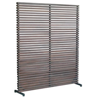 Aurelle Home Hard wood Brown Screen