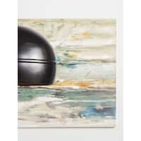 Aurelle Home George Abstract Canvas Wall Art