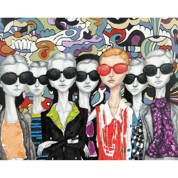 Aurelle Home 'Style' Canvas Art Print