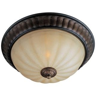 Maxim Wilshire Shade 2-light Fremont Flush Mount Light