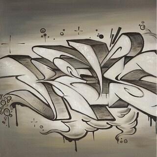 Aurelle Home City Graffiti Canvas