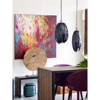 Aurelle Home 'Celebrate' Canvas Art Print