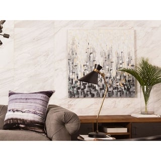 Aurelle Home Touch Abstract Canvas Wall Decor