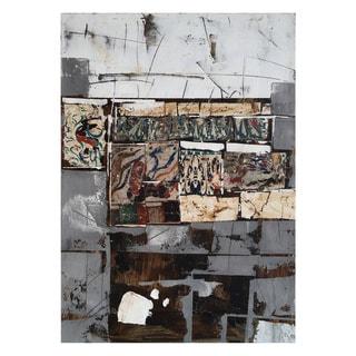 Aurelle Home Bricks Wall Decor I Canvas Art