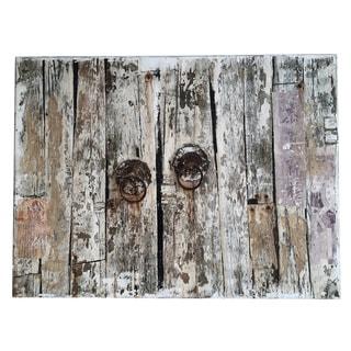 Aurelle Home Canvas Rustric Door Wall Decor