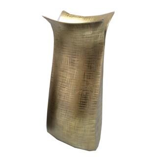 Aurelle Home Ingvar Large Bronze Vase