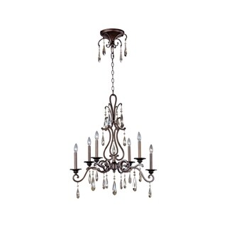 Maxim 6-light Chic Single Tier Chandelier