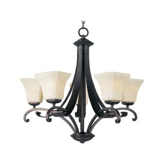 Maxim 5-light Oak Harbor Single Tier Chandelier