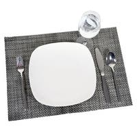 Silver Weave Placemat, 12ct