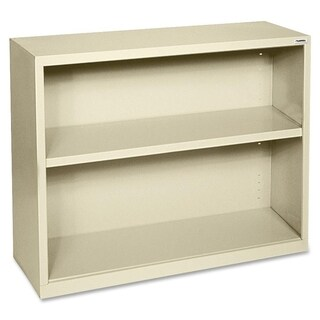 Tan Lorell Fortress Series 2-shelf Bookcase
