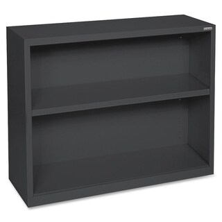 Black Lorell Fortress Series 2-shelf Bookcase