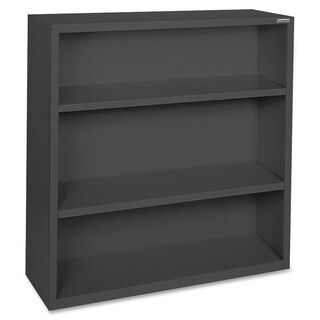 Black Lorell Fortress Series 3-shelf Bookcase