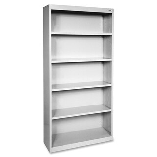 Grey Lorell Fortress Series 5-shelf Bookcase