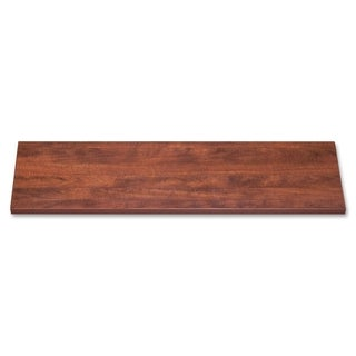 Cherry Lorell 42-inch Lateral Files Laminate Tops