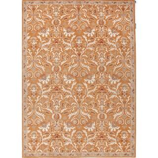 Hand-Tufted Oriental Pattern Orange/Ivory (3.6x5.6) - PM33 Area Rug