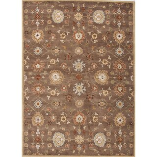 Hand-Tufted Oriental Pattern Brown/Red (3.6x5.6) - PM14 Area Rug