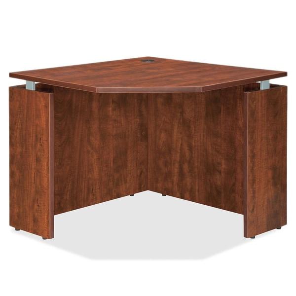 Cherry Lorell Ascent Corner Desk
