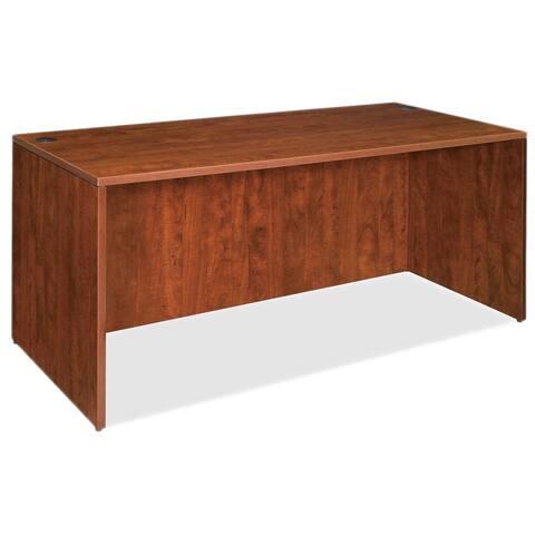 Cherry Lorell Essentials Rectangular Desk Shell