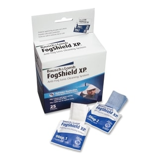 Blue Bausch & Lomb Anti-fog Lens Cleaning Tissues