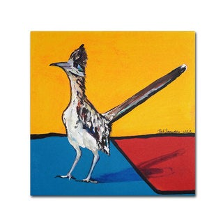 Pat Saunders-White 'On Your Mark' Canvas Art
