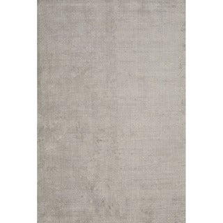 Solids/ Handloom Solid Pattern Grey (8x10) - KT07 Area Rug