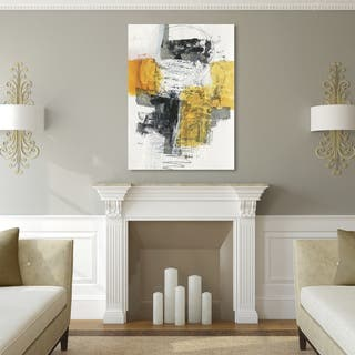 modern artwork for living room. Clay Alder Home Jane Davies  Action I Canvas Art Gallery For Less Overstock com