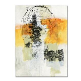Jane Davies 'Action II' Canvas Art