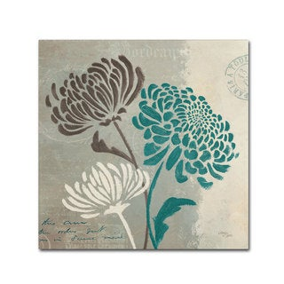 Wellington Studio 'Chrysanthemums II' Canvas Art