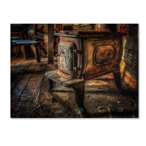 Lois Bryan 'Liberty Wood Stove' Canvas Art