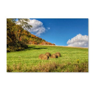 Lois Bryan 'October Afternoon' Canvas Art