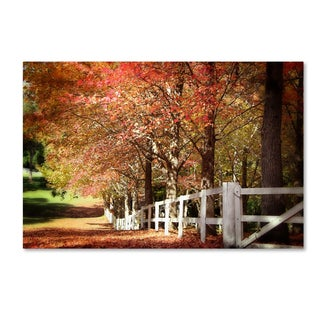 Beata Czyzowska Young 'Autumn Moods' Canvas Art