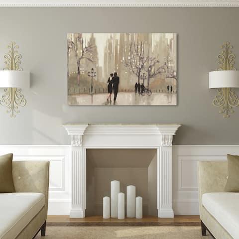 Copper Grove 'An Evening Out Neutral' Canvas Art