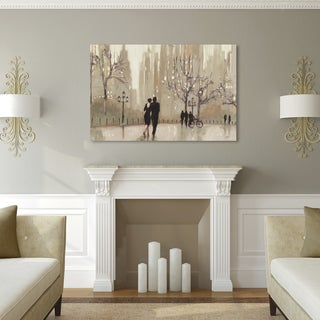 Julia Purinton 'An Evening Out Neutral' Canvas Art