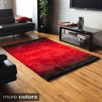 Blazing Needles 5-foot by 7-foot Fading Light Gradated Shag Rug - 5' x 7'