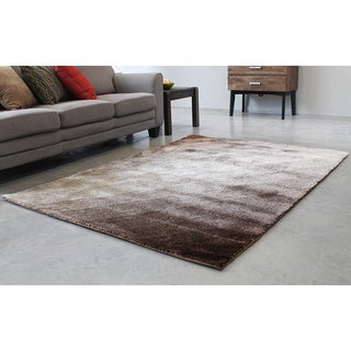 Blazing Needles 5-foot by 7-foot Light Rays Gradated Shag Rug