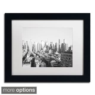Ariane Moshayedi 'City IV' Framed Matted Art