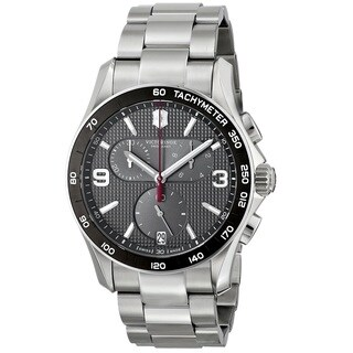 Victorinox Swiss Army Men's 241656 'Chrono Classic' Chronograph Stainless Steel Watch