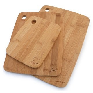 Culina Bamboo Wood Cutting Board (Set of 3)