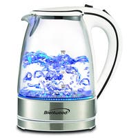 Brentwood KT-1900W Royal Glass Electric Tea Kettle