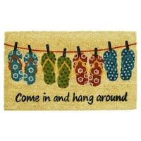 Flip-flop Fun Doormat (1'5 x 2'5)
