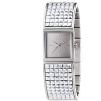 DKNY Women's  Bryant Park Silver Stainless Steel Watch